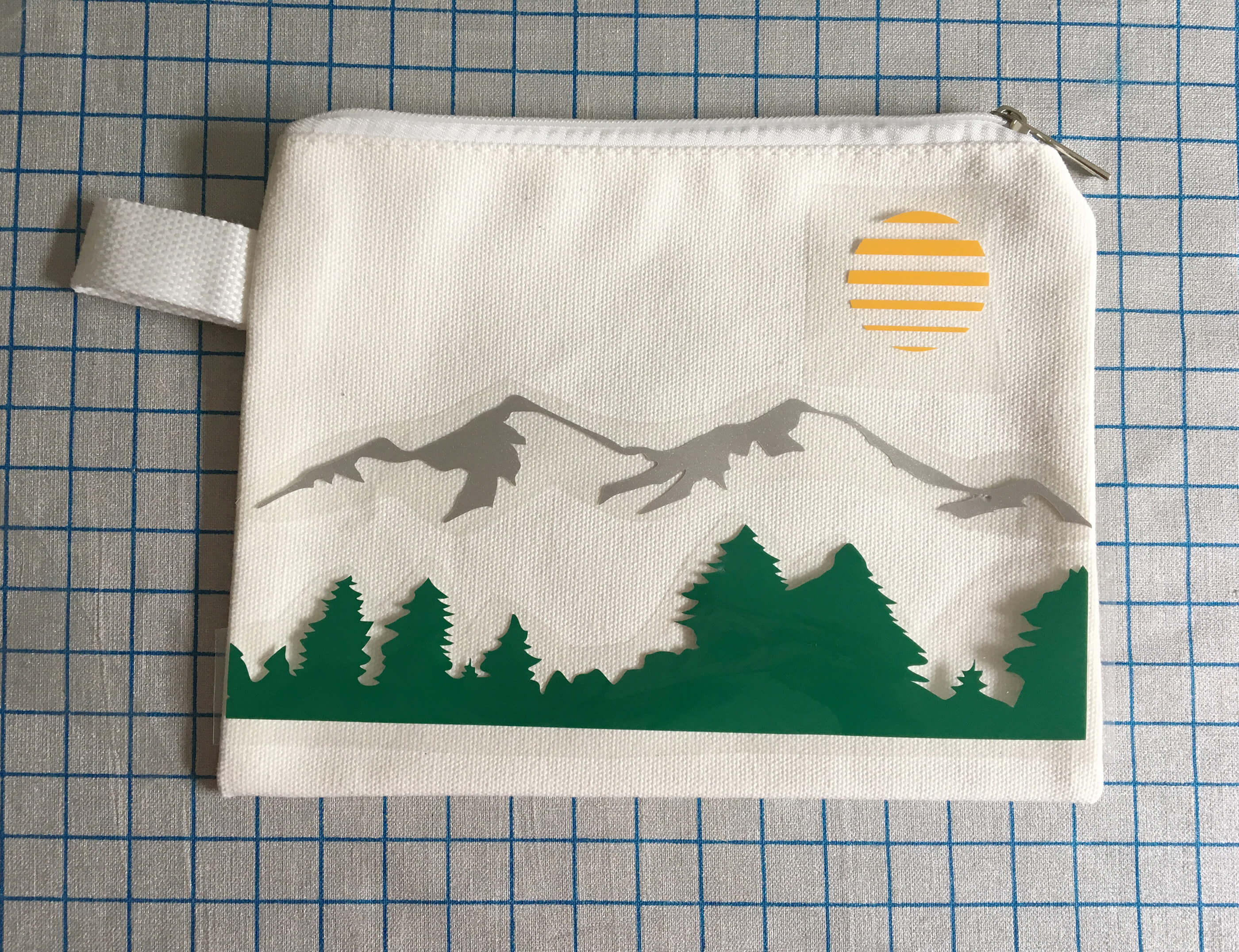 craftables mountain pencil pouch craft
