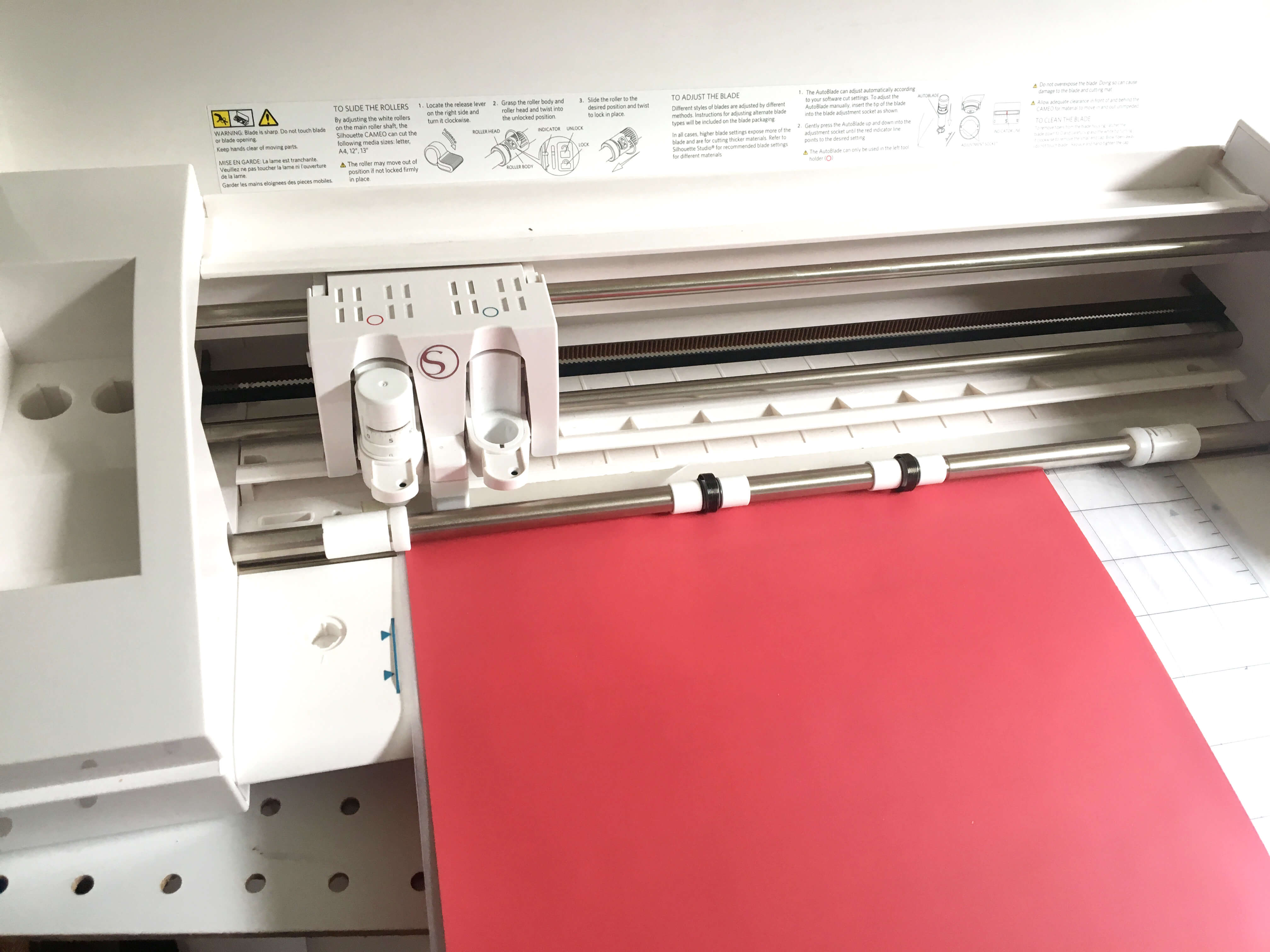 cutting craftables smooth red
