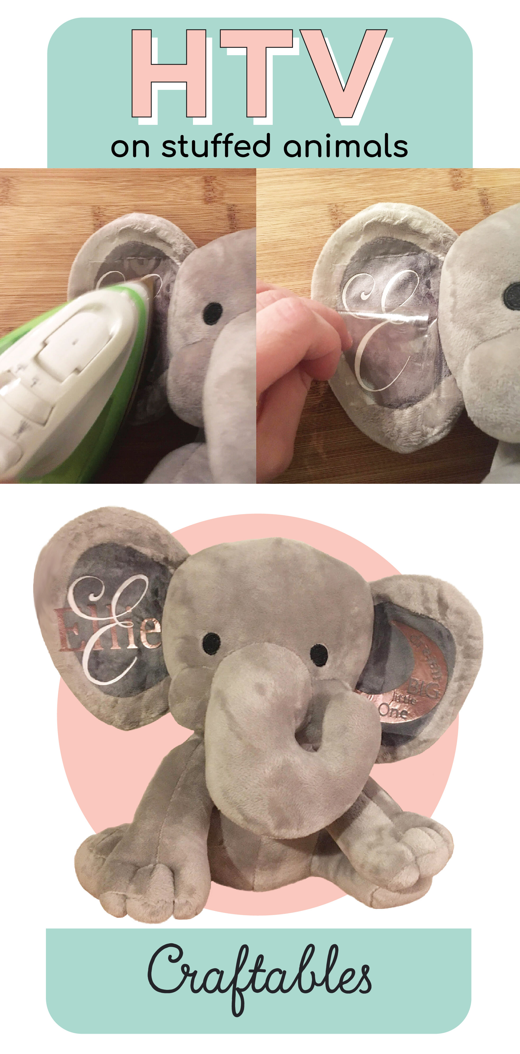 how to htv stuffed animal