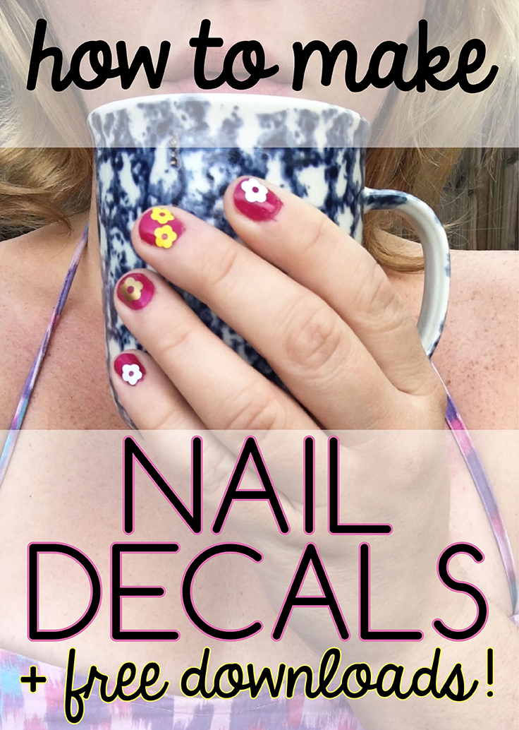 how to make nail decals
